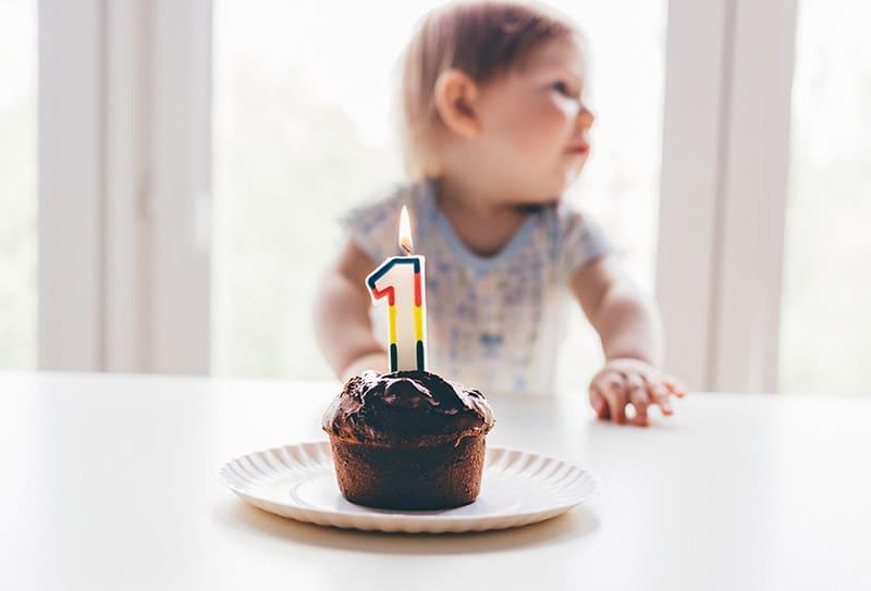 De 1e verjaardag, toch wel een dingetje…