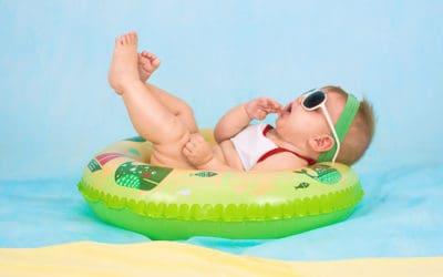 Zomerhitte, tips voor je baby