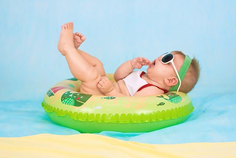 baby zomerhitte